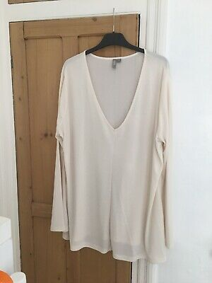 AU8.93 • Buy Asos Curve Cream Top Size 22