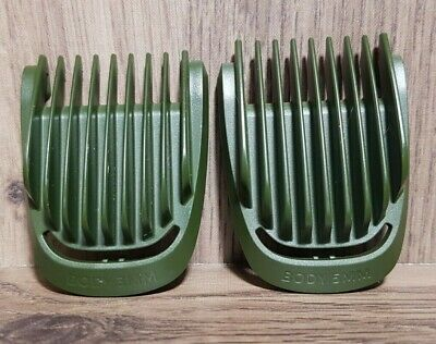 AU7.42 • Buy OEM Philips Norelco Multigroom Trimmer Blade Body Guide Combs Guard Set 3mm 5mm