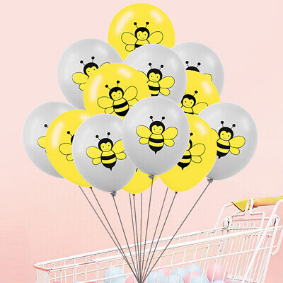 £2.39 • Buy 10pcs/set 12inch Cute Animal Bee Latex Balloon Birthday Party Decor'FZ