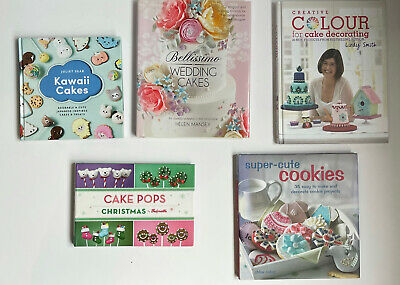 5 Baking Books. Cake Decorating  • 4.99£