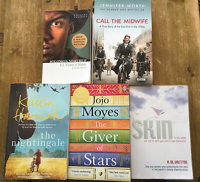 Women's  Fiction Book Collection X5 Call The Midwife Giver Of Stars Nightingale • 5£