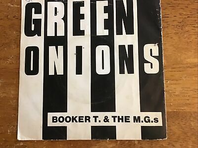 """Booker T And The M.g's Green Onions 7""""45-k 10109-plays Ex.re-issue. • 4.99£"""