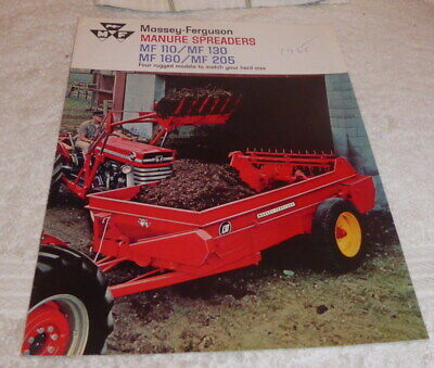 £14 • Buy Classic Brochure For Massey-Ferguson Manure Spreaders Dated 1968