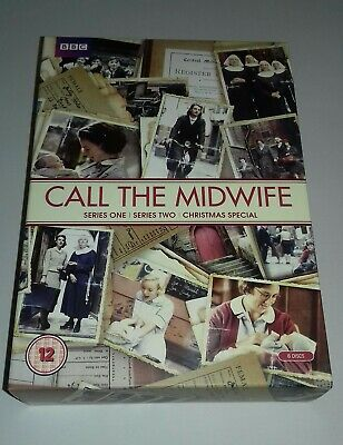 Call The Midwife Series 1 & 2 Plus Christmas Special 6 Disc Dvd Boxset. • 4.99£