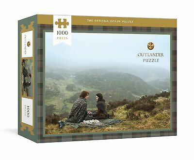 AU39.86 • Buy NEW BOOK Outlander Puzzle - Officially Licensed 1000-Piece Jigsaw Puzzle By TELE