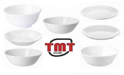 £7.95 • Buy New Ikea OFTAST White Dinner Plates,Side/Deep Plates And Bowls,Make Your Own Set