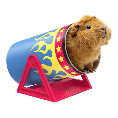 £11.75 • Buy HayPigs Guinea Pig Toys And Accessories - Circus Themed Cavy Cannonball Tunnel