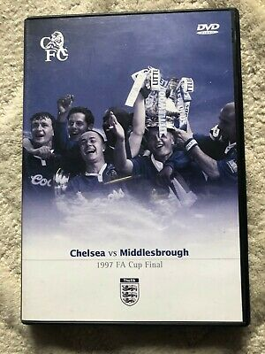 £6.95 • Buy FA Cup Final 1997: Chelsea Vs Middlesbrough (DVD, 2003)
