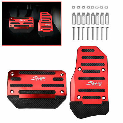 £7.60 • Buy 2PCS Universal Non-Slip Automatic Gas Brake Foot Pedal Pad Cover Car Accessories