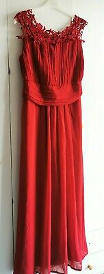 AU16.30 • Buy Red Lace Party Prom Dress 12