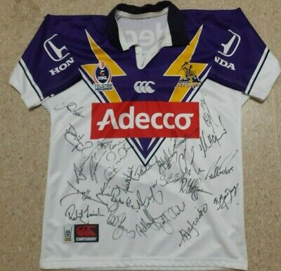 AU500 • Buy Melbourne Storm Players Jersey # 9 Team Signed