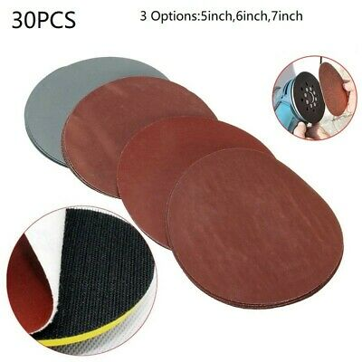 AU17.24 • Buy 5-7  Sanding Disc Orbital Sander Sandpaper Hook Loop 320-1500 Grit Assorted Pad