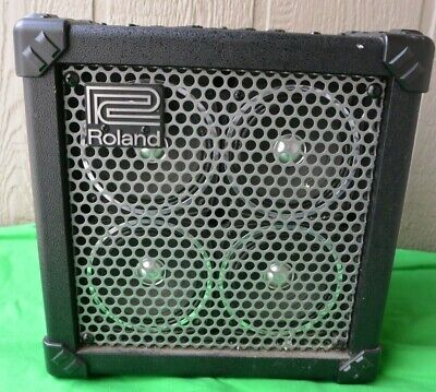 AU321.92 • Buy Roland MICRO CUBE BASS RX Battery-Powered Amp