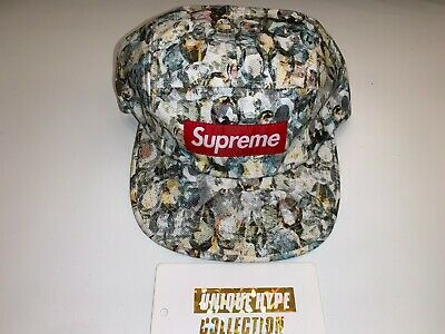 $ CDN46.10 • Buy Supreme 2014 S/s Liberty Jewels Box Logo Camp Cap Hat White Used Preowned