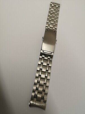 £28.80 • Buy 18mm Stainless Steel Replacement Strap Watch Bracelet Fits Omega Seamaster Watch