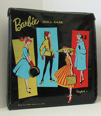 $ CDN9.66 • Buy Vintage Barbie Fashion Trends Carrying Case - 1961 - Black