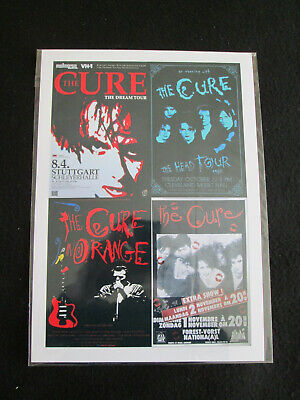 £3.99 • Buy The Cure  : Collage Poster :  A4  Repo Poster