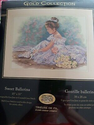 Sweet Ballerina Gold Collection Crossstitch Kit • 27£
