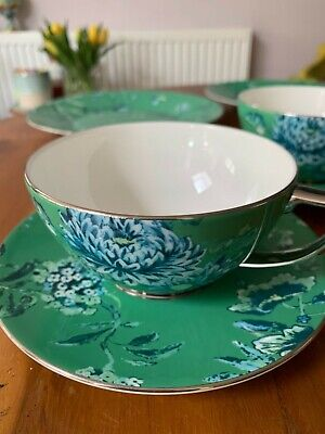 £82 • Buy Jasper Conran Wedgwood Chinoiserie Green Teacup And Saucer X 2 Unused Unboxed