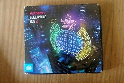 £4 • Buy Electronic 80s 2. .Various Artists : Ministry Of Sound Anthems. 3 CD Set.