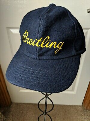 Baseball Style Cap With Ear Flaps. Breitling Script. Sailing Yachting. • 12.99£