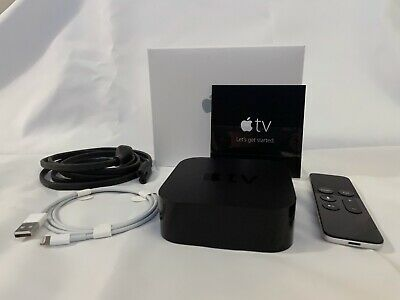 AU115.84 • Buy Apple TV HD 32GB (4th Generation) Complete W/ Lightning Cable, Siri Remote & Box