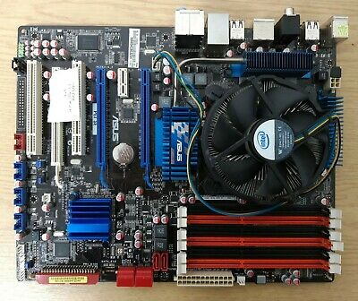$ CDN170.39 • Buy ASUS P6T SE LGA1366 ATX Motherboard X58 Chipset With Intel I7-920 With Backplate