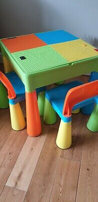 £15 • Buy Play Table Lego Sand Water And Chairs