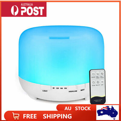 AU45.09 • Buy 500ML LED Essential Oil Aroma Diffuser With Remote Control