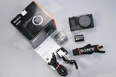 AU1063.66 • Buy Sony A6300 24.2 MP Low Shutter Mirrorless Camera 4K Video APS-C Body ILCE-6300
