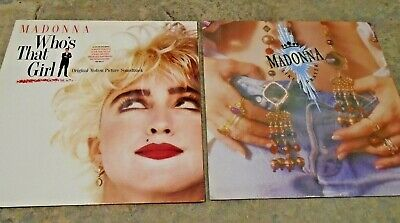 £8.99 • Buy 2 Vinyl LPs From Madonna - Who's That Girl ? And Like A Prayer
