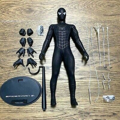 $ CDN314.38 • Buy Hot Toys 1/6 : Figure Mms 165 Spider - Man 3 Black Suit : Spiderman +accessories