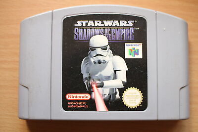 AU27.95 • Buy Star Wars: Shadows Of The Empire (N64) [PAL] - WITH WARRANTY