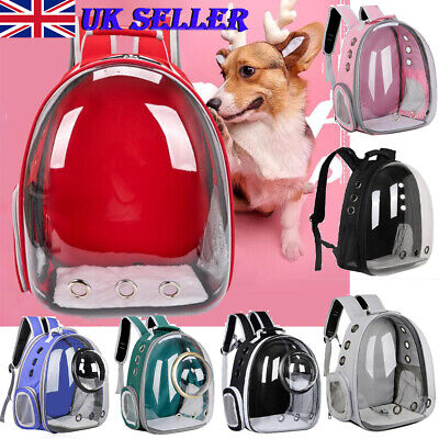 £19.82 • Buy Pet Carrier Durable Backpack Capsule Travel Dog&Cat Bag Breathable Astronaut