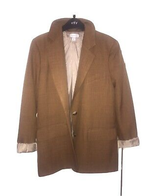 £45 • Buy Topshop Oversized Blazer In Camel, Size 8, Only Worn Once, ASOS Price £59.99