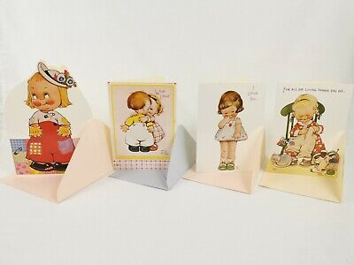 £8.50 • Buy Mabel Lucie Atwell, Birthday Greetings Card Collection -  Rare & Collectable