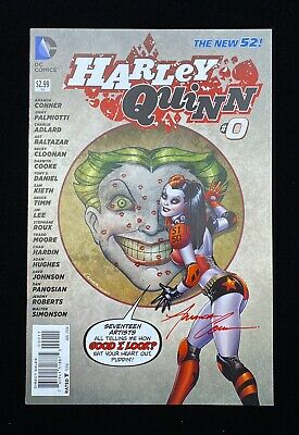 $ CDN34.95 • Buy Harley Quinn #0 (01/14) New 52 Signed ** Amanda Conner ** Dc High Grade Nm 9.4