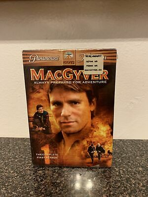 $10 • Buy MacGyver-Complete First Season 1 (DVD,6-Disc Set) 17 & 1/2 Hours Of Viewing Time