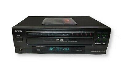 £58.17 • Buy AIWA XC-37MU 5-Disc CD Carousel Compact Disc Changer Player TESTED No Remote
