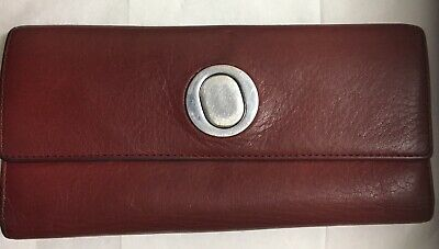AU24.50 • Buy Oroton Red Leather Wallet