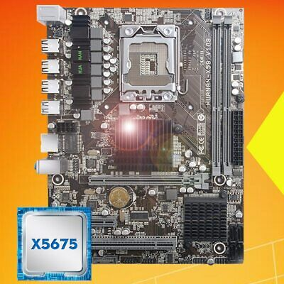 $ CDN353.92 • Buy Desktop Motherboard HUANANZHI X58 LGA1366 Motherboard With Processor Intel