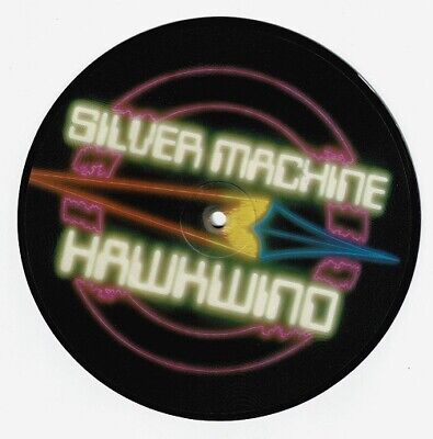 £14.99 • Buy HAWKWIND Silver Machine Vinyl Record Single 7 Inch RCA 1982 Picture Disc & Rock