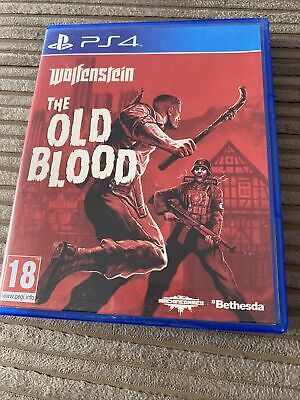 £0.99 • Buy Wolfenstein The Old Blood Playstation 4 Game