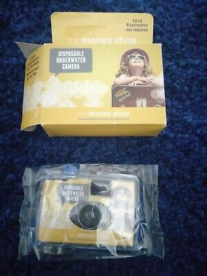 £4 • Buy The Money Shop Disposable Underwater Camera 15 Exposures New Boxed