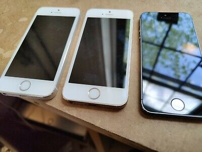 $ CDN24.51 • Buy Lot Of 3 Apple IPhones 5s A1453 Black, Silver And Gold For Parts/Repair