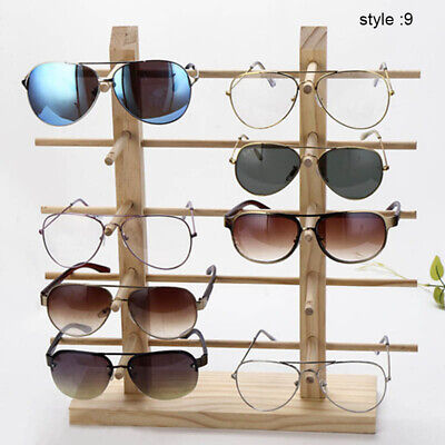 AU27.95 • Buy Wooden Sunglass Display Rack Eyeglasses Goggles Show Stand Holder Counter Rack