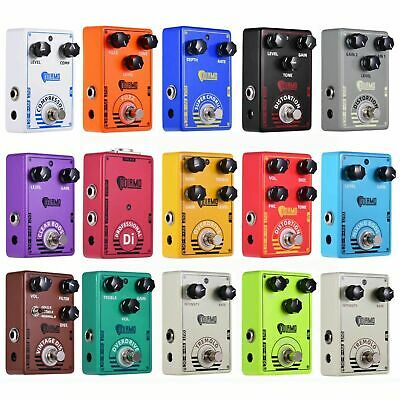 $ CDN32.73 • Buy 14Type Effect Electric Guitar Effect Pedal FUZZ Chorus Overdrive Distortion W5B3