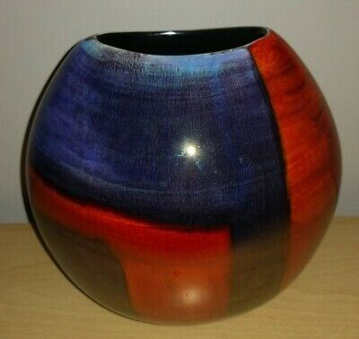 £40 • Buy Poole Pottery Purse Vase Excellent Condition No Chips Or Cracks.