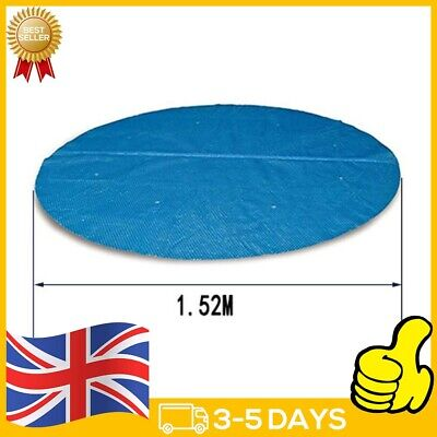 £4.31 • Buy Blue Hot Tub And Spa Thermal Blanket Blue Pool Bubble Cover 4/5 Ft Round