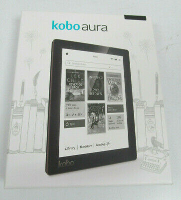 "£51.30 • Buy Kobo Aura 6"" E-Reader HD E-Ink Clarity Digital EBook Reader Tablet – New"